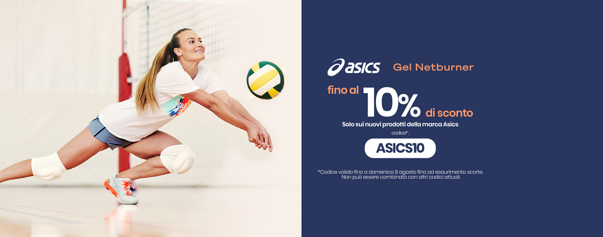 Asics - Top volleyball